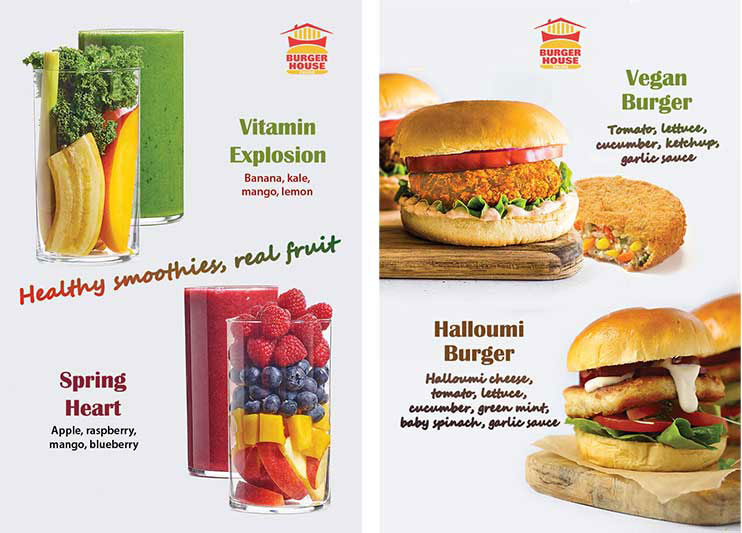 Menu Burger House Ealing London Halal restaurant