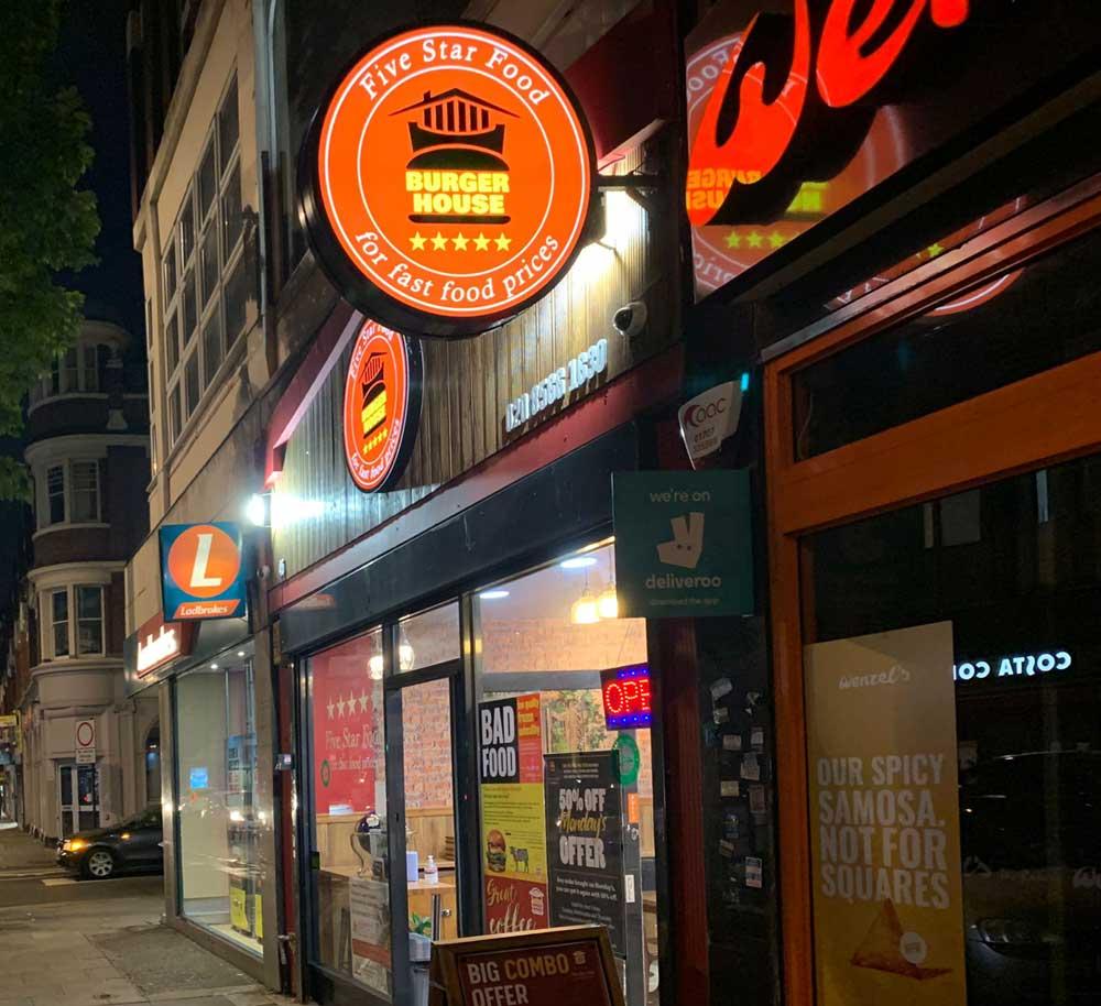 Burger House Restaurant Ealing London